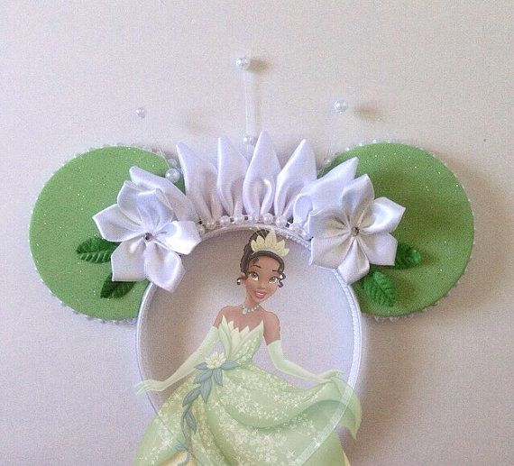 Disney Princess Tiana Mickey Mouse Minnie Mouse by seamcometrue
