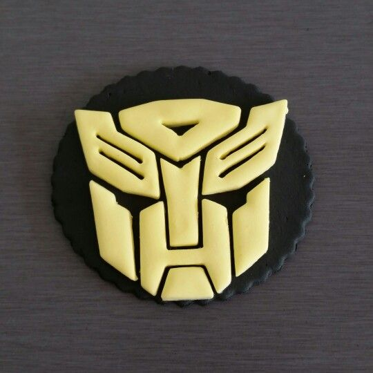 Transformer Cupcake Toppers (Autobot)