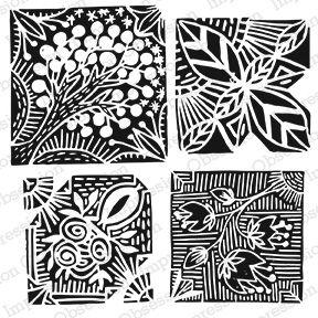 Rotating Repeat Tiles - Flora