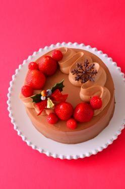 「クリスマスチョコレートケーキ」あいりおー | お菓子・パンのレシピや作り方【corecle*コレクル】