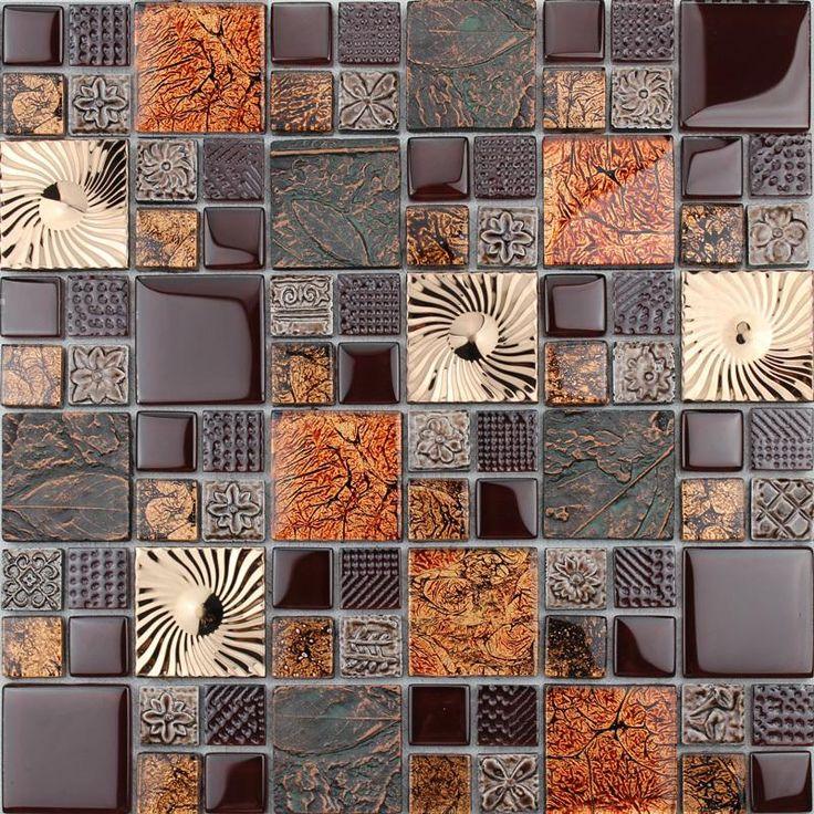 65 Kitchen Backsplash Tiles Ideas Tile Types And Designs: 1000+ Ideas About Glass Tile Kitchen Backsplash On