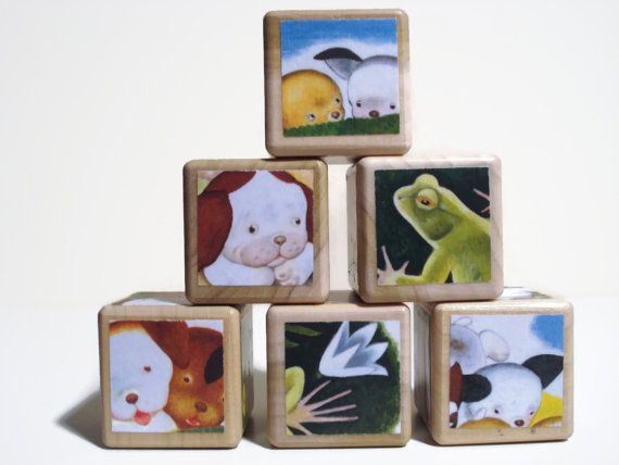 The Poky Little Puppy / Storybook Blocks / by BlockPaperScizzors