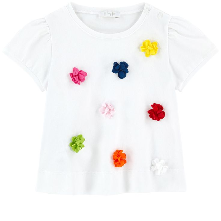 T-shirt with flowers