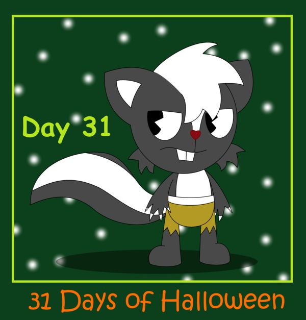 31 Days of Halloween - Day 31 by AnimalComic96 on deviantART