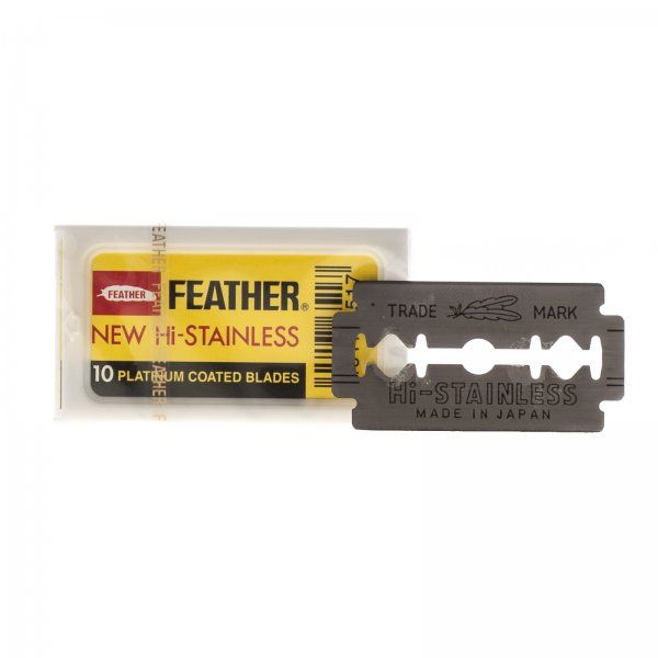 Feather Dubbelrakblad 10-pack - Gents