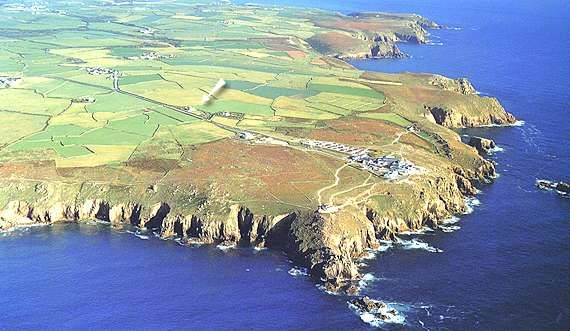 Land's End Cornwall, England