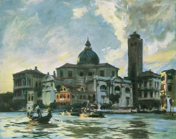 Джон Сингер Сарджент Дворец Лабия, Венеция 1913 г.