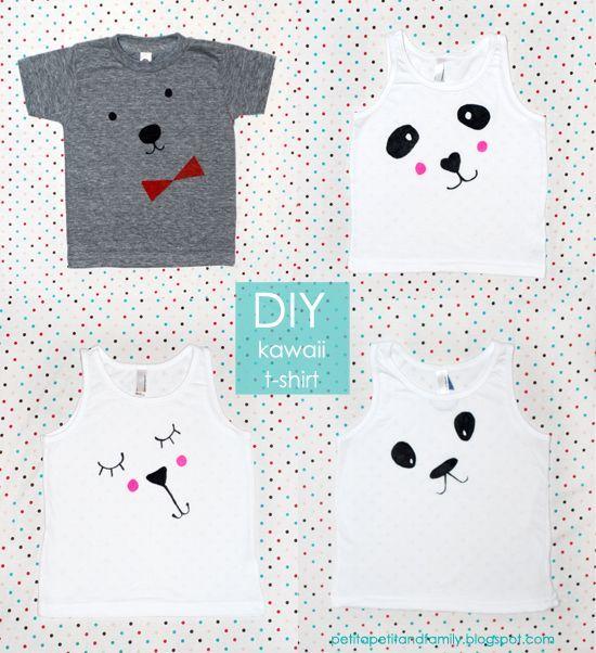 tutorial para hacer camisetas para niños