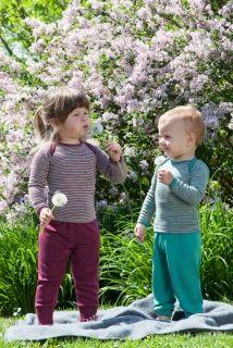 Engel Baggy Trousers in Merino Wool & Silk / Engel volné kalhoty z  merino vlny a hedvábí