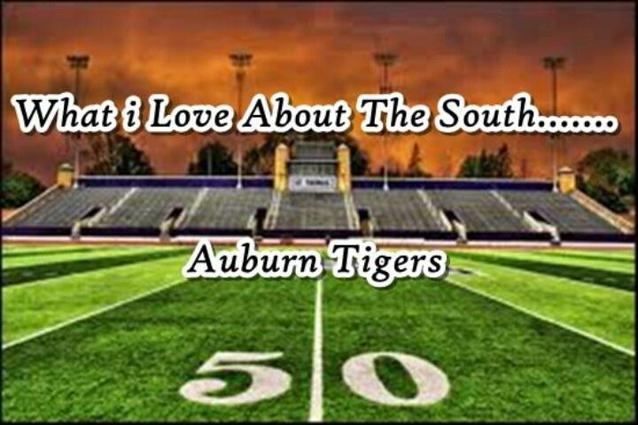 Auburn Tigers!