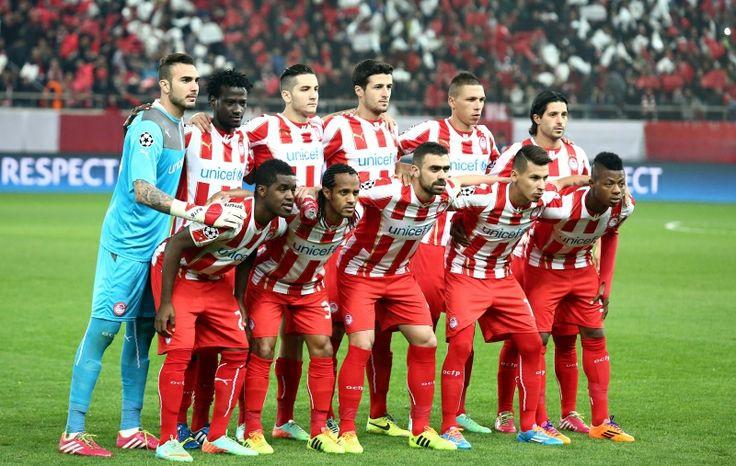 Olympiacos Champions League! Olympiakos!! Ολυμπιακος Greek Soccer Football UEFA FIFA OSFP