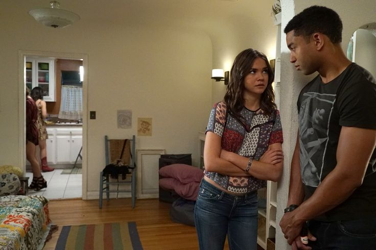 """#TheFosters 4x04 """"Now for Then"""" - Callie and AJ"""