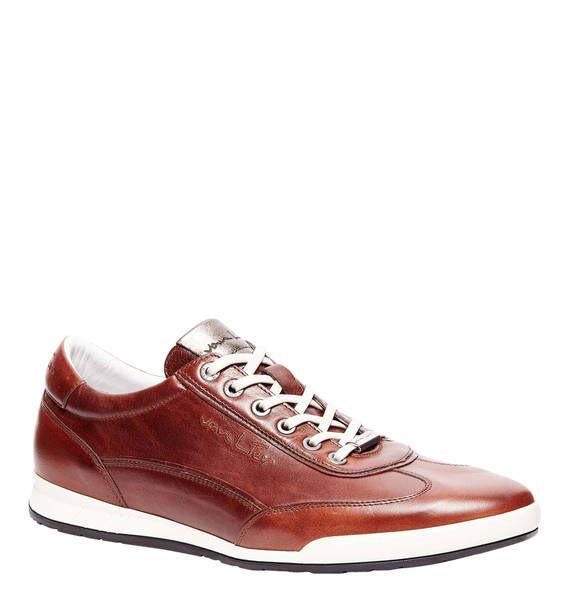 #VAN #LIER #Sneaker, #Leder - Modische Sneaker aus Leder mit Gummisohle von van…