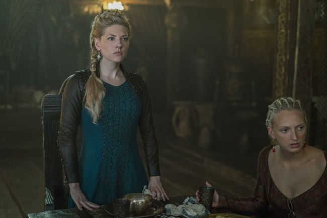 Vikings S5e1 S5e2 The Departed With Images Lagertha