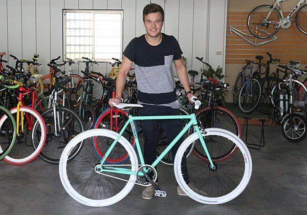 ColorBike單速車/線上客製化配色/英倫血統/蒂芬妮綠/TiffanyGreen/單車/公路車/腳踏車/Fixed Gear/