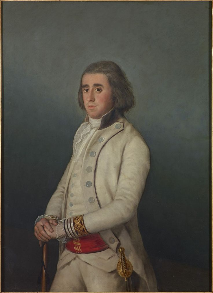 Francisco de Goya, Don Valentín Bellvís de Moncada y Pizarro, around 1795