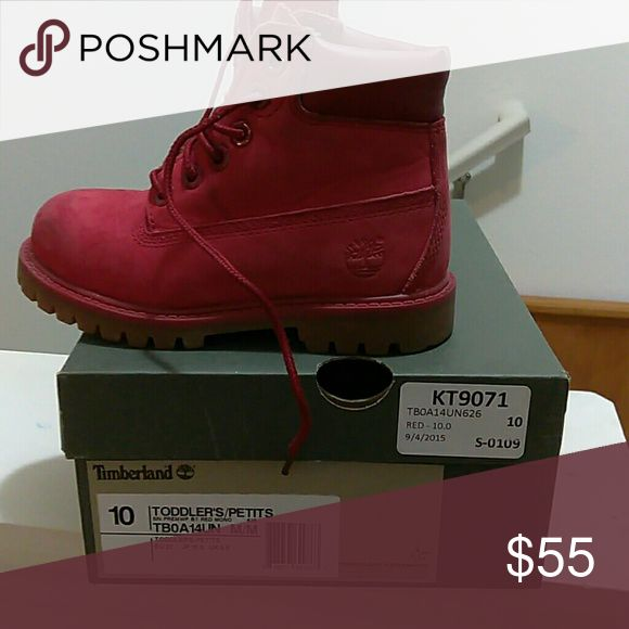 toddler timberland shoes size 10