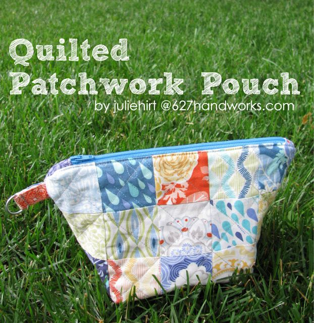 Cute Quilting Pouch!