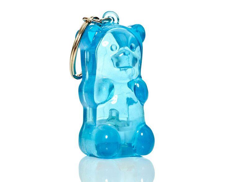 Gummy Bear Light-Up Keychains