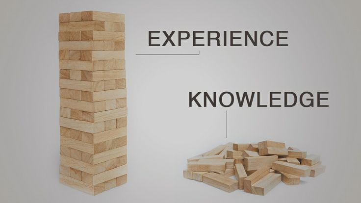 The Difference Between Knowledge and Experience