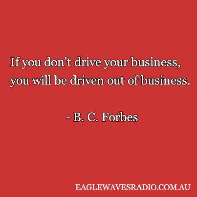 B. C. Forbes #quote #businessquote #smallbusiness