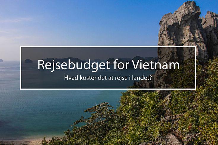 Planlægger du en tur til Vietnam og er i tvivl om priser, så se hvad det kostede mig at rejse en måned i landet. Så du bedre kan lægge dit budget