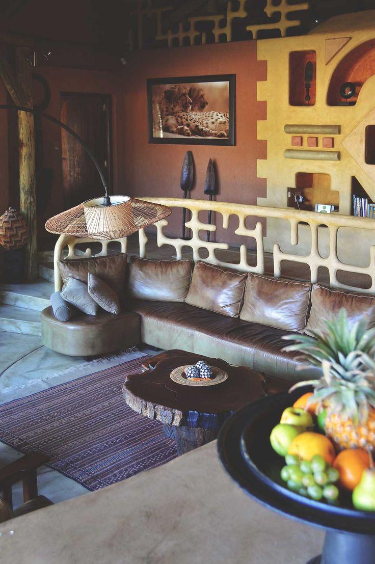 Okonjima Bush Suite lounge   heneedsfood.com