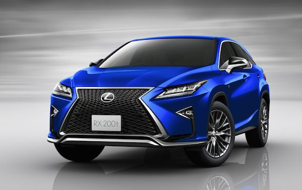 "Lexus RX F SPORT | レクサス「RX ""Fスポーツ""」の2WDが発売、青白い炎をイメージした専用色を追加"