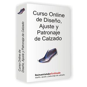 Curso online de diseño y patronaje de Calzado de manos de un profesional de la industria zapatera.