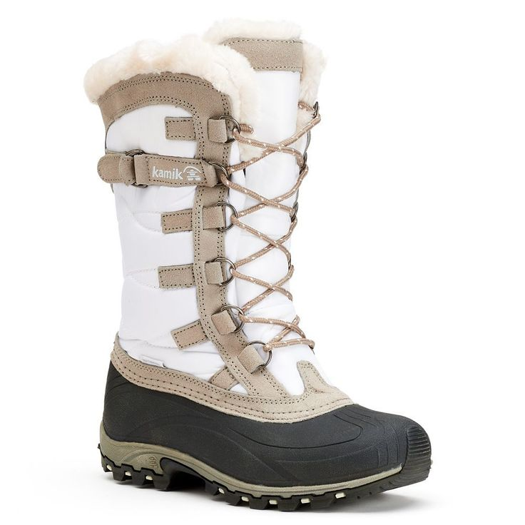 Kamik Snowvalley Women's Waterproof Winter Boots, Size: medium (11), White