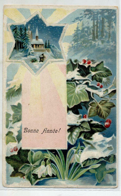 Paesaggio Di Neve Stella Fiori A Rilievo Buon Anno New Year Pc Viaggiata 1911 Eur 1 99 For Sale Dream S Theory Presen Nel 2020 Paesaggi Cartoline D Epoca Cartoline