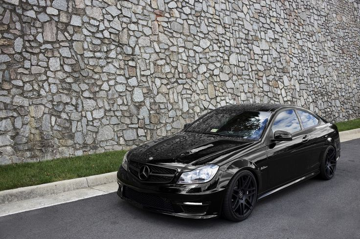Blacked out Mercedes C300 | Cars | Pinterest | Coupe