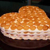 Fotografie receptu: Nepečený tvarohový dort