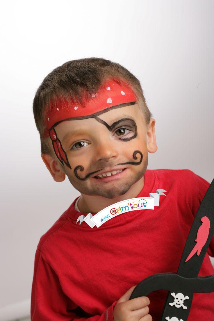 Un maquillage simple pour se transformer en super pirate kindergrime pinterest simple - Maquillage pirate fille ...