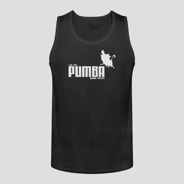 Pumba Lion King Hakuna Matata Men Tank Top - T-Shirts, Tank Tops