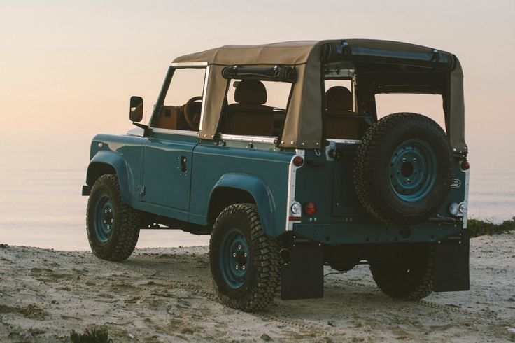 Catch a wave this Christmas with this custom Land Rover Defender   Classic Driver Magazine