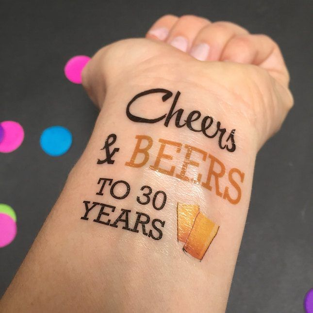 30th Birthday Party Ideas: Beer Tasting, Theme | Brit + Co