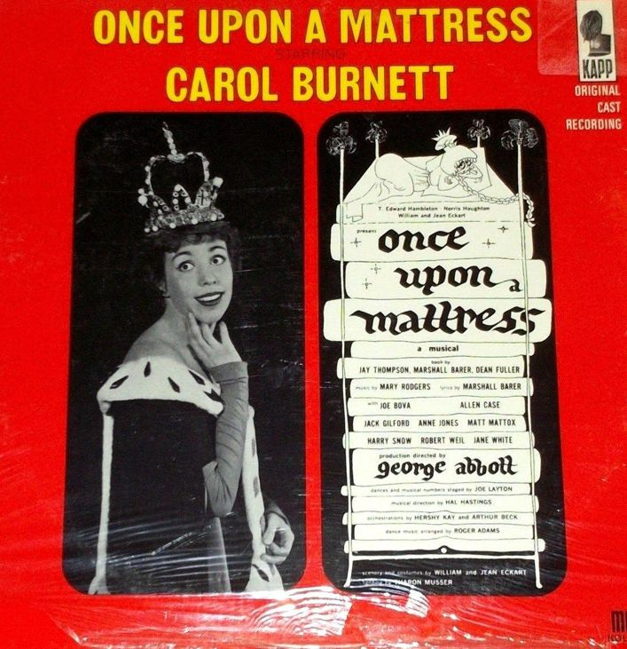 once broadway cast recording
