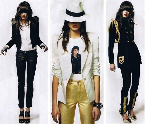 Photo of MJ style for fans of Michael Jackson Style.