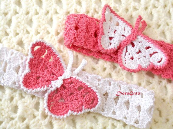 Crochet Baby Elastic Headbands Free Patterns ~ Dancox for .