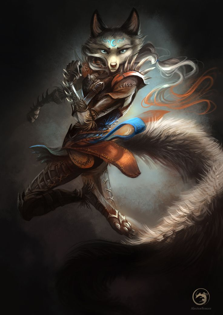 wolftale dragon rider by alectorfencer fighter ranger