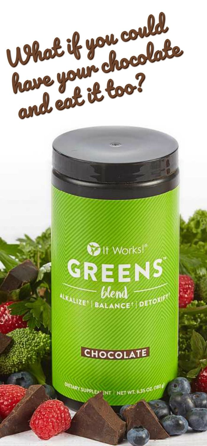 Getting healthy and in shape can be hard but that doesn't mean you have to give up fun stuff like chocolate to get the results you want. Check out this new product from ItWorks!