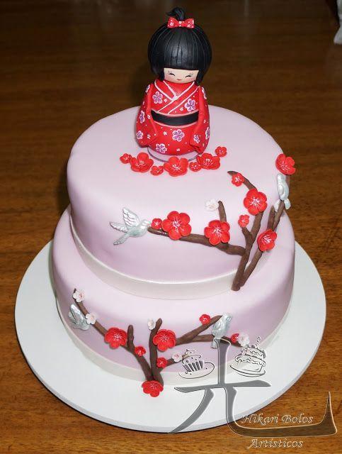 cake kokeshi