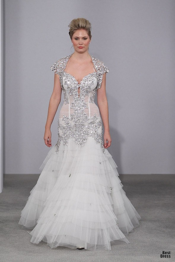 Silver Wedding Dress Ideas : 91 best wedding dress ideas images on pinterest