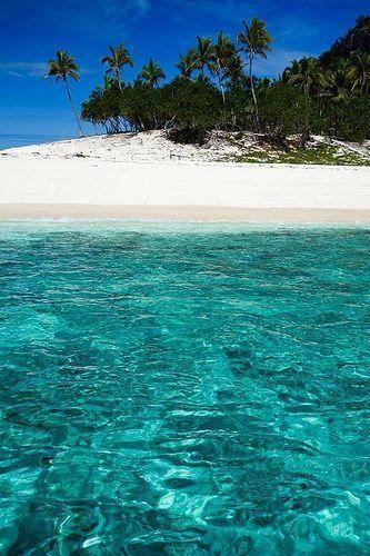 Monuriki Island in Fiji was the filming location of #Castaway