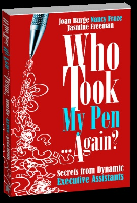 """Check out """"Who Took My Pen... Again? Secrets from Dynamic Executive Assistants.  It is a  book for executive assistants written by executive assistants."""