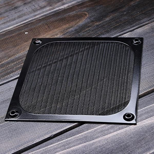 For Pc Fan 120mm Aluminum Dustproof Cover Dust Filter. Description: 	Help to keep your PC and PC components clean,minimize the noise from 	the fan and extend the life-span of your fan.  	High quality aluminum filter with stainless mesh for12cm PC Case Fan 	When the fan in your PC blowing cool air inside acomputer case, it can also take in dust and dirt. 	Wave-folded Design - Provides larger surface area fordust blocking 	 	Details : 	Filter Material: Stainless steel wire mesh 	Frame…