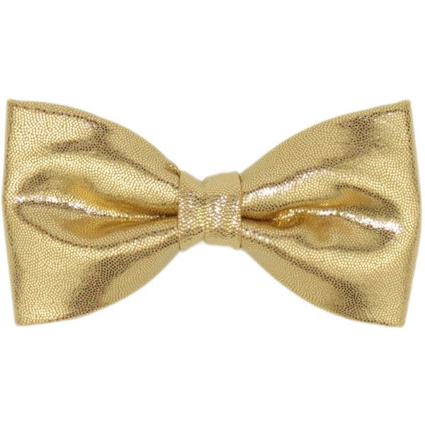 Men Boys Shiny Gold Clip On Bow Tie 16 Liked On