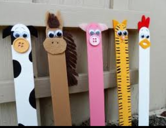 Popsicle Animals! Great babysitting craft!