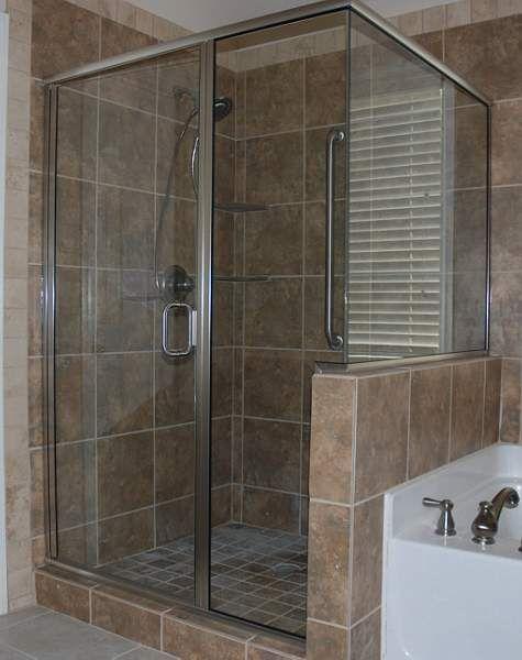 118 best frameless glass shower doors images on pinterest for Glass shower doors near me